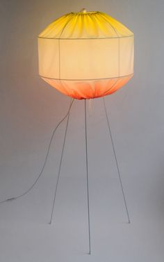 // Diabolo tripod lamp by Colonel