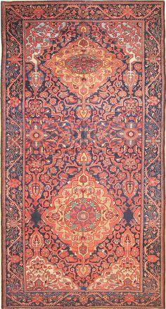 Antique Bakhtiari Persian Rug 2244 Main Image - By Nazmiyal