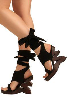 I Zig It Heels Shoes $44.99