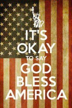 God Bless America ♥