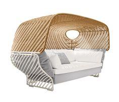 Tigmi Deep sofa with roof by DEDON | Seating islands