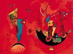 "Wassily Kandinsky ""Pro e contro"" olio su tela, 75 x 110 cm Wassily Kandinsky, Cavalier Bleu, Paul Klee, Art Moderne, Art For Art Sake, Russian Art, Cubism, Matisse, Famous Artists"