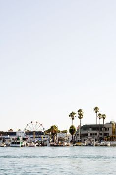 I took a day trip down from Los Angeles to Newport Beach and Balboa Island. Such a relaxing and easy going fun girls day trip! Oh The Places You'll Go, Places To Travel, Travel Destinations, Places To Visit, Magic Places, The Beach, Beach Town, Just Dream, I Want To Travel