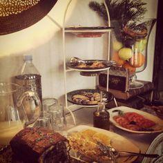 Detalle buffet desayuno
