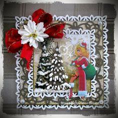 Handmade Christmas Cards (Scrapbooking) - Kenny K image - Mrs Claus