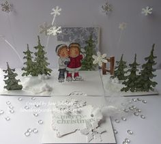 Jane's Lovely Cards : Simon Says Stamp DT - Let it snow!!