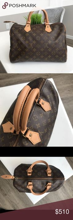782fbe3119cd Authentic Speedy 30 Authentic Louis Vuitton Speedy 30. This bag has been  updated with
