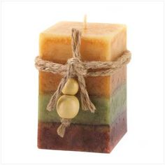 love this chunky candle