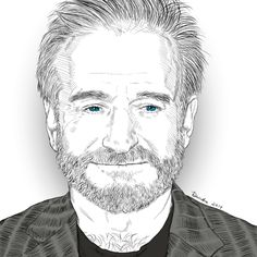 My tribute to Robin Williams.  By Deirdre DeLay