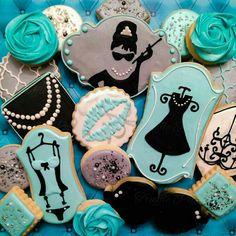 Tiffany Themed Cookies