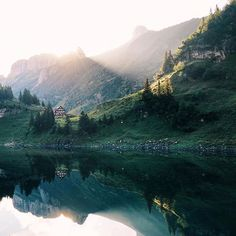 A friend of mine is traveling through Switzerland and is taking pictures of the most beautiful places. Her name is Martina Bisaz and she is already a little bit famous on Instagram. But I wanted to share her amazing work in the Panda community too.