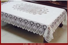 Free tableclothes crochet patterns - new zealand of gold discovery