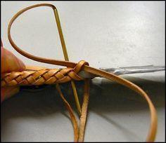 Eight-String Round Edge Leather Braid, Part 2, par Schwert - ARCHIVES : Outdoors-Magazine.com