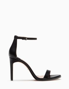 Narrow heel sandals