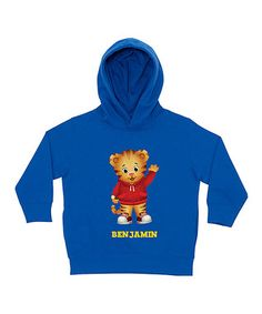 Royal Daniel Tiger Personalized Pullover Hoodie - Toddler & Boys