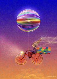 journey Ferris Wheel, Surrealism, Artworks, Fair Grounds, Journey, Travel, Art Pieces, The Journey, Viajes