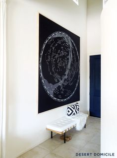 How to Mount and Frame a Large Tapestry #diy #art