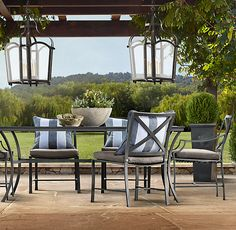 outdoor dining set - the carmel collection