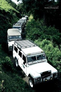 Expedition anyone? #LandRover Series