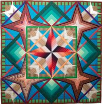 Libby Lehman's Quilts Benefit Bidding Online Auction New Mexico Suite: Pecos Summer