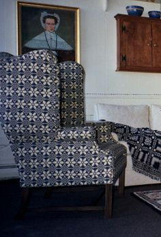 Each piece is built one at a time in our frame shop using the best time tested methods of quality construction. We use kiln-dried hardwood to make all… Wingback Armchair, Time Tested, Frame Shop, Gingham, Accent Chairs, Hardwood, Upholstery, Wings, Decorating Ideas