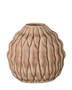 Vase Heavy Structure nude aus der AW Collection 2015 von Bloomingville