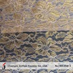 Thick Cord Lace Gold Metallic Lace Fabric (M5259-J) on Made-in-China.com