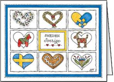Swedish Hearts Card   ----   Jana Johnson Schnoor . (319) 338-1882 . jjschnoor@aol.com ALL IMAGES © Jana Johnson Schnoor