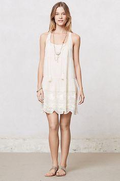Leveled Lace Dress #anthropologie