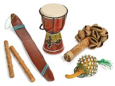 Sounds of Nature Instrument Set at Lakeshore Learning