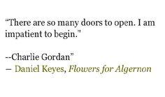 flowers for algernon dr strauss
