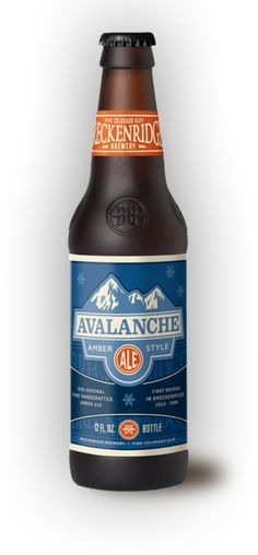 "Colorado: Breckenridge Brewery ""Avalanche Ale"""