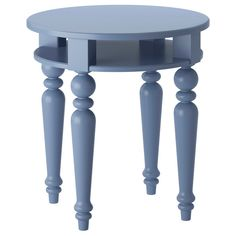 Side table with pretty turned legs