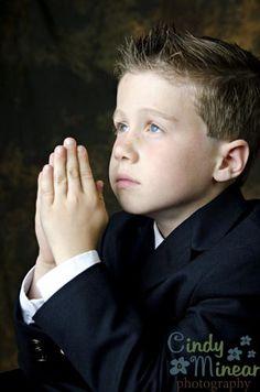 communion portrait boy - Google Search