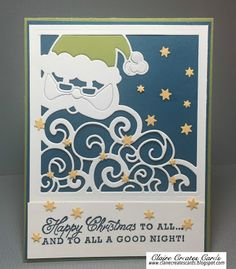 Claire Creates Cards: Happy Christmas To All--Pals Paper Arts PPA315