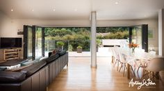 Stunning,+spacious,+contemporary,+eco+holiday+home++++Holiday Rental in North Devon from North Devon, Open Plan Living, Architect Design, Pergola, Cottage, Outdoor Structures, Contemporary, Architecture, Luxury