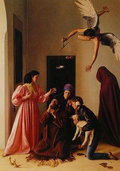 Claudio Bravo Temptation of St Anthony