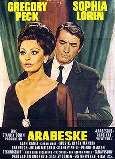 Old movie Poster...Arabeszk