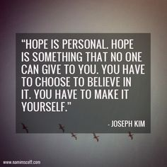 Nami M. Scott: Life Enthusiast: Quote of the Week: Hope