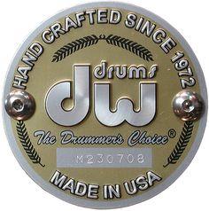 DW Drums Company Badge, Drums Logo, J Birds, King Drawing, Drum Room, Drum Music, Vintage Drums, How To Play Drums, Blues