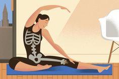 Ioga pode ser benéfico para a saúde dos ossos Paul Rogers/The New York Times