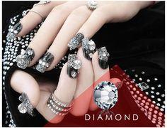 1440Pcs A Grade Crystal Glitter Rhinestone Gems DMC 3D DIY Tips Decoration Flat-Bottomed DIY Nail Stones For False Nail UV Gel