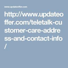 http://www.updateoffer.com/teletalk-customer-care-address-and-contact-info/