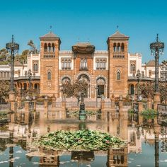 14 Beautiful Places To Visit In Spain Backpacking Spain, Spain Culture, Eco City, Tour Tickets, Spain Holidays, Seville Spain, Beautiful Places To Visit, Imagines, Spain Travel