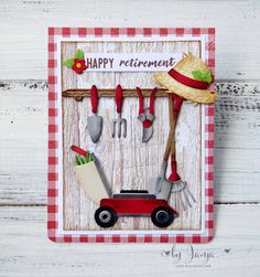 Happy Retirement, Retirement Cards, Teacher Retirement, Mothers Day Cards, Ink Pads, Masculine Cards, Cool Cards, Blank Cards, Paper Piecing