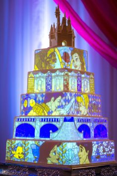 Disney Weddings Created the Most Amazing Cake You'll Ever See | Lifestyle | Disney Style