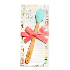 Let's Rock Today Kitchen Companion Ribbon Decorations, Centerpiece Decorations, Kitchen Spatula, Scented Hand Sanitizer, Magnetic Notepads, Cool Artwork, Amazing Artwork, Edible Gifts, Coffee Gifts