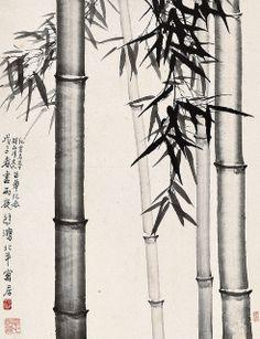 徐悲鸿 竹报平安 by China Online Museum - Chinese Art Galleries, via Flickr