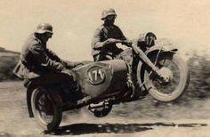 Motorrad Sport bei der Wehrmacht
