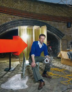 TOM DIXON MAKES THINGS BETTER The London-based designer is committed to enhancing real life with smart design. Sometimes he even gives away what he makes.